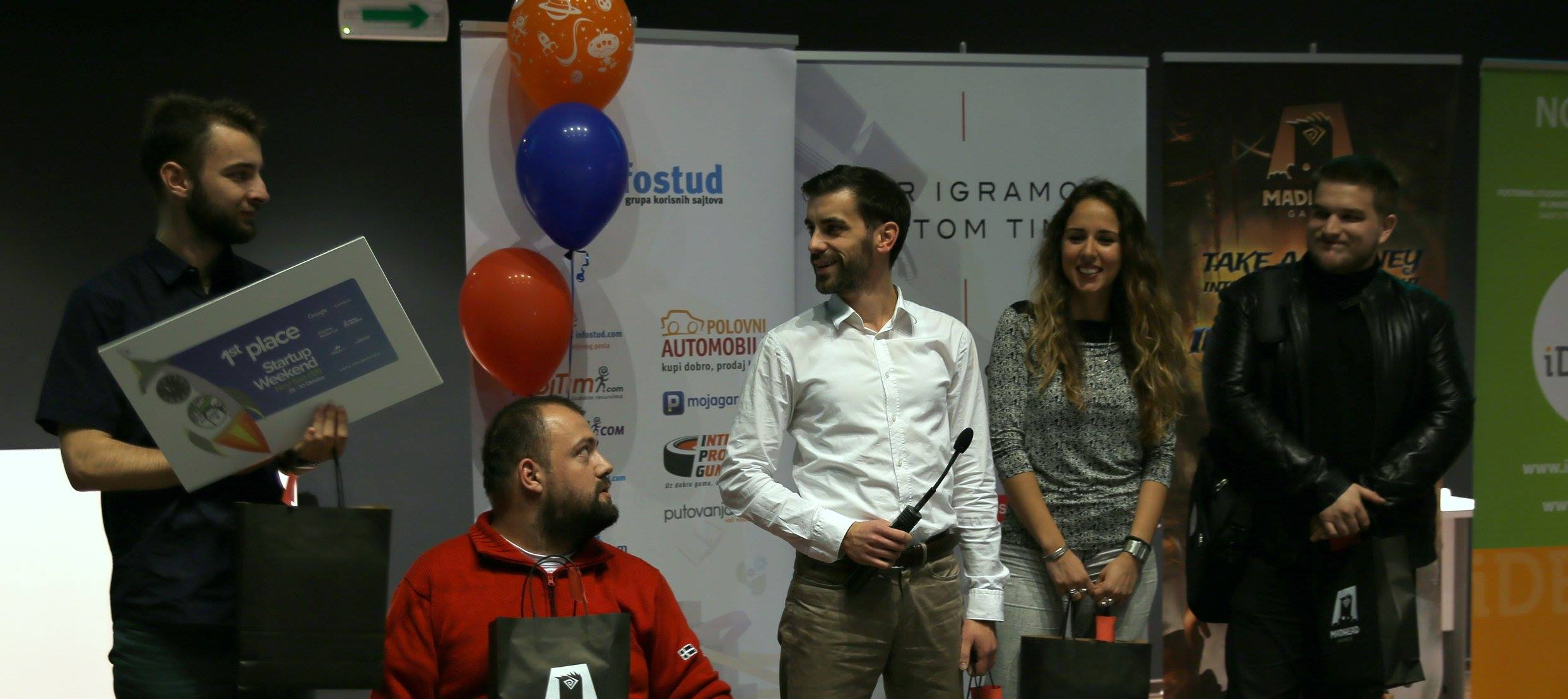 Blog 3 Startup weekend 1st place